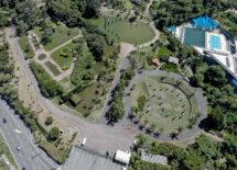 Vista aérea do Jardim Botânico