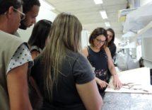 Coordenadora do Herbário Dra. Ingrid Koch explica sobre o funcionamento do Herbário UEC e suas atividades