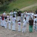 Roda de capoeiristas