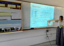 A agente de zoonoses Roseli Silva apresentou o projeto Zooeduca