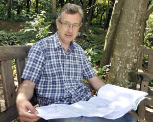 Renato explica que áreas serão preservadas e usadas para pesquisa